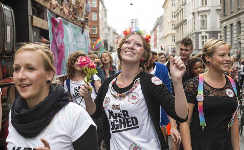 Copenhagen Pride Week kulminerer lørdag med en stor parade i København