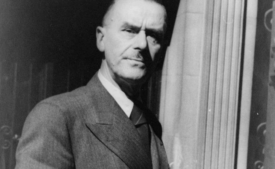 """""""Musikken har altid virket stærkt stildannende på mit arbejde,"""" sagde Mann ved et foredrag i 1939."""