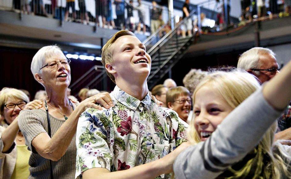 Mors midt i Limfjorden har været ret isoleret før i tiden, men har åbnet sig, fordi man har erkendt, at der er brug for impulser udefra. De kommer blandt andet fra Kulturmødet, som i flere år har trukket nye mennesker til øen. Billedet er fra Kulturmødet 2015.