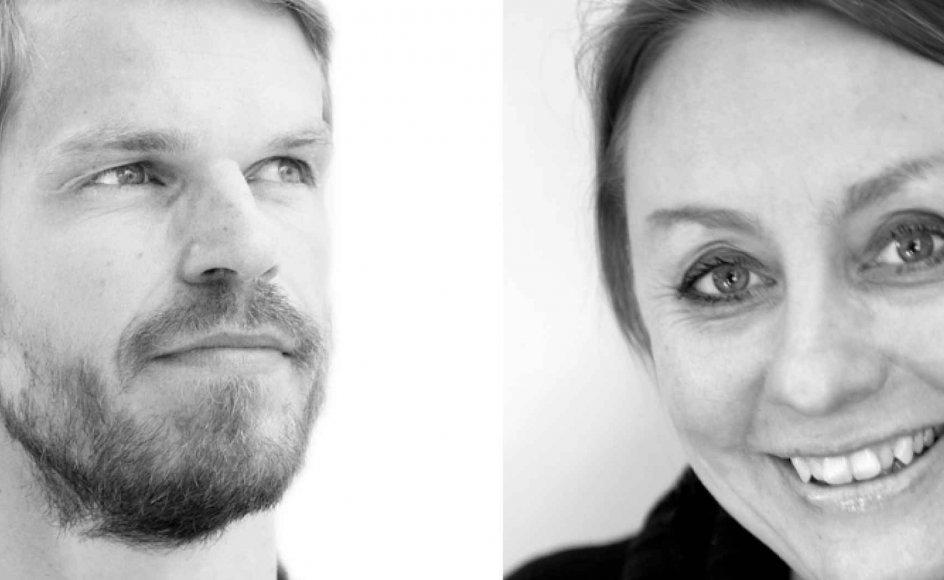 Svend Brinkmann og Nana Hauge. Arkivfotos.