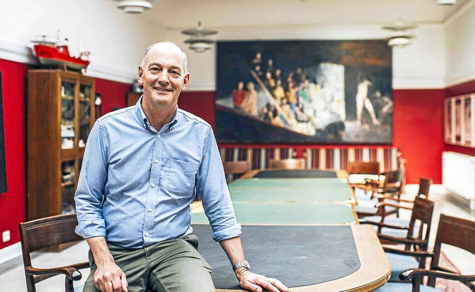 På Henriette Hørlück Skolen i Odense er der kunst og udsmykninger overalt. Dekorationen giver skoledagen merværdi og skærper elevernes fantasi og sanser, mener skoleleder Henrik N. Jørgensen.