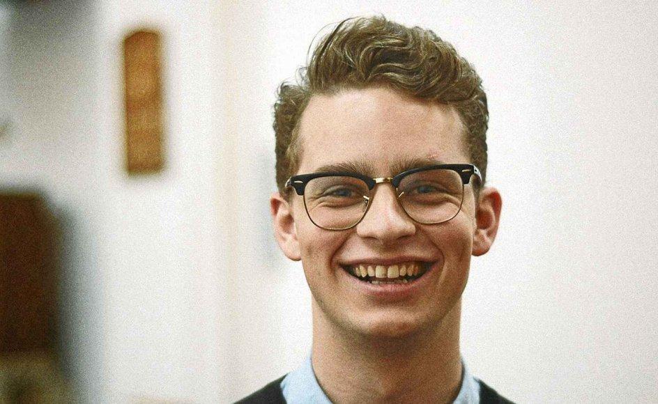 Andreas Riis Damgaard har også studeret et år på Heythrop College i London, hvor han blandt andet kom i den danske kirke.