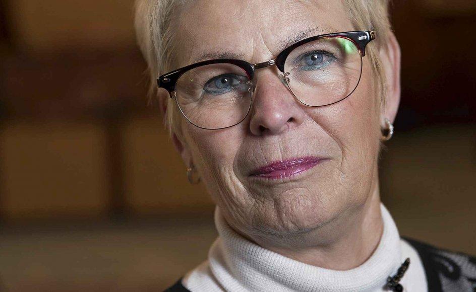 """""""Vi har noget værdifuldt, vi kan trække på, når livet er svært,"""" fortæller Dansk Folkepartis rådmand i Aarhus Jette Skive."""
