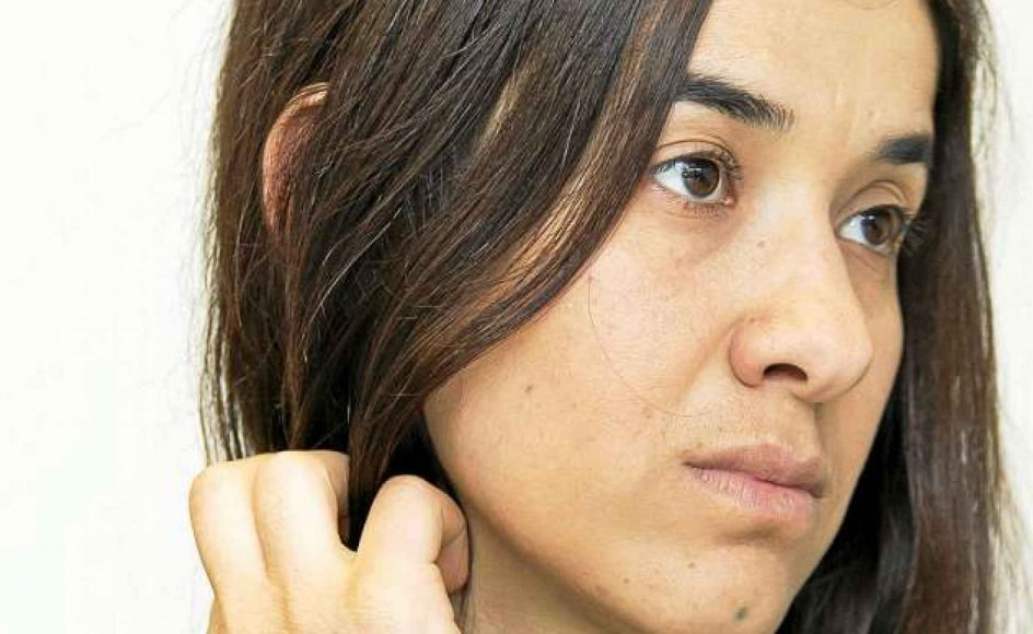 Nadia Murad Basee Taha var tre måneder sexslave hos Islamisk Stat, før det lykkedes hende at flygte. Hun er en af de to yazidi-kvinder, der i år modtager Sakharovprisen.