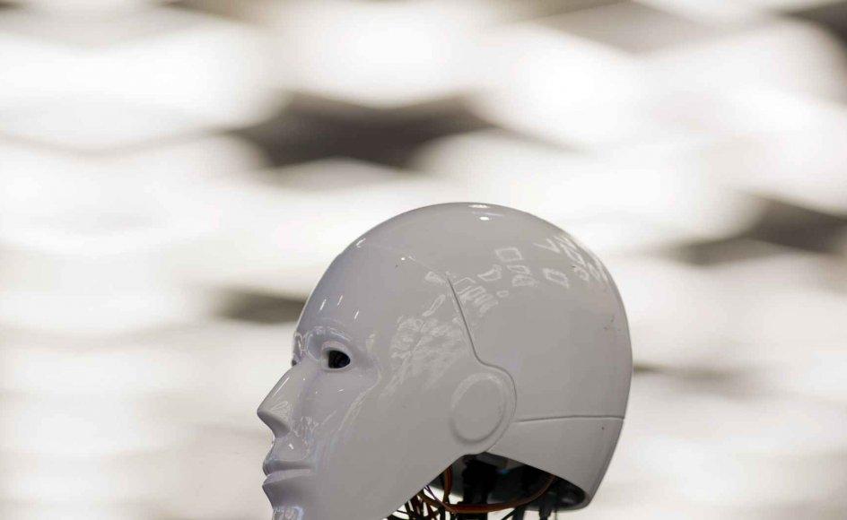 Robotterne kommer, skriver Andreas Roepstorff. Men hvem har ansvaret for dem? Billedet er fra World Robot Conference i Beijing.