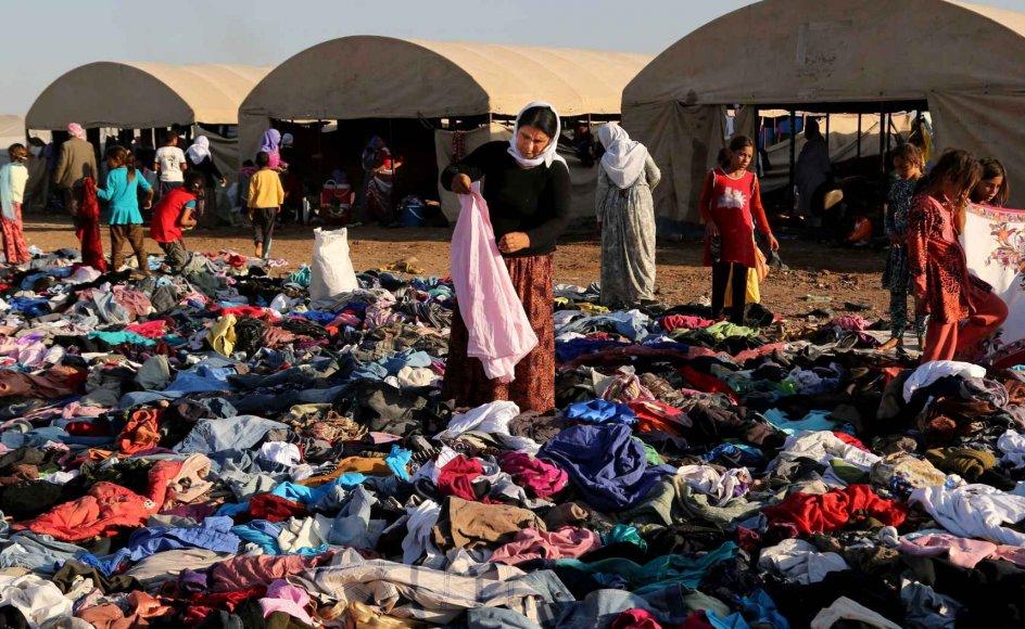 Forholdene for de kristne i Mellemøsten er kun forværret, mener journalist Klaus Wivel. Kvinderne på billedet er yazidier - et kristent forfulgt mindretal i Irak.