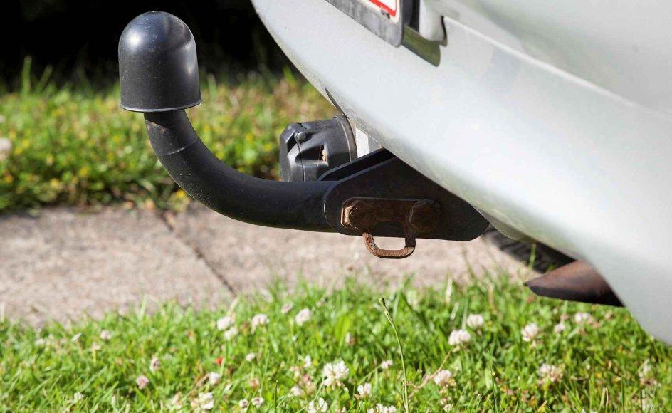 På Læsø har 70 procent af bilerne trækkrog, mens kun 28 procent af bilerne i Hørsholm Kommune har en.