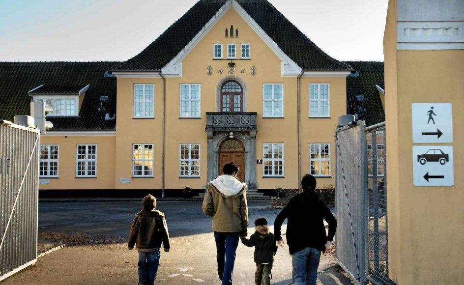 Sandholm-lejren ved Birkerød på Sjælland har indberettet flere tilfælde af chikane mod kristne, viser en aktindsigt foretaget af Kristeligt Dagblad. Lejr-beboerne på arkivfotoet er ikke impliceret i sagerne. –