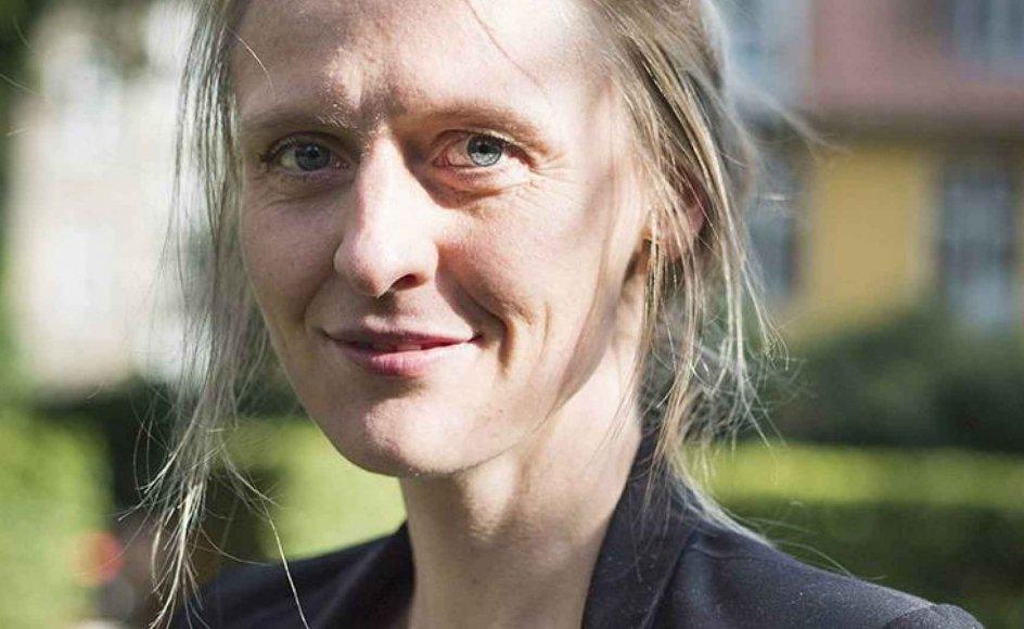 Ingrid Ank er akademileder i Grundtvigsk Forum og går ikke ind for at sætte mærkater på folk efter kirkelig retning. Men hun befinder sig godt med det grundtvigske livssyn. – Arkiv