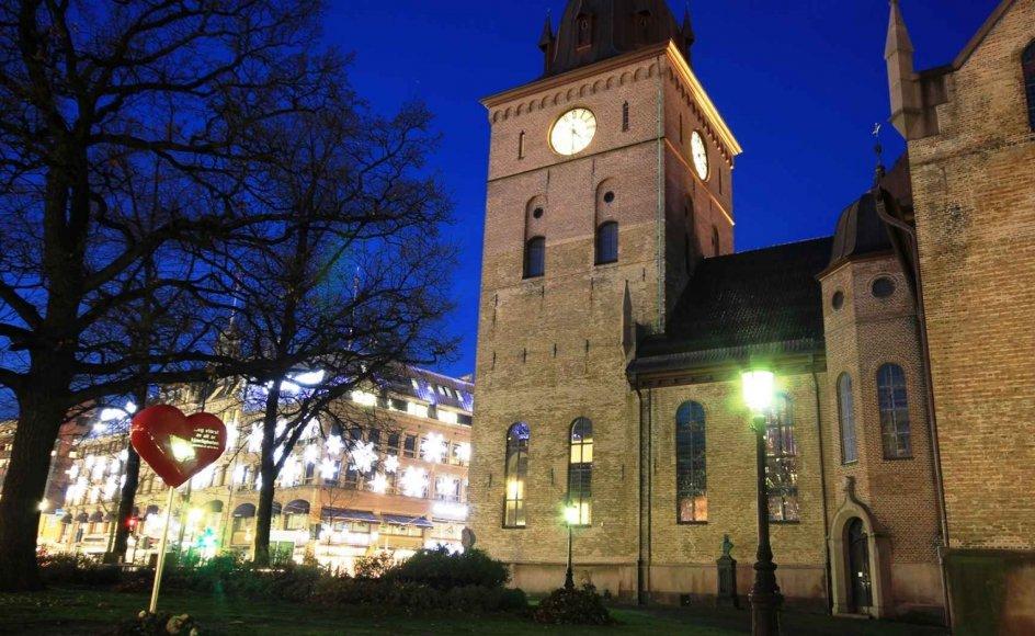 Domkirken i Oslo.