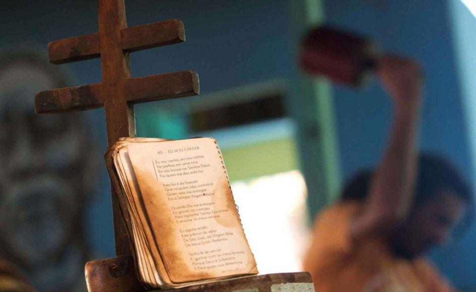 I maj 2014 søgte tilhængerne af Santo Damie-religionen i Danmark dispensation om at importere ayahuasca til de religiøse ceremonier. Billedet er fra Brasilien, hvor religionen stammer fra.