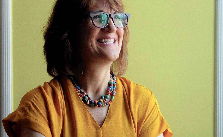 """Den amerikanske lærebogsforfatter Michelle Garcia Winner har netop besøgt Danmark for at undervise på et kursus i """"Social Tænkning"""". Hendes lærebøger om samme emne er netop udkommet. –"""