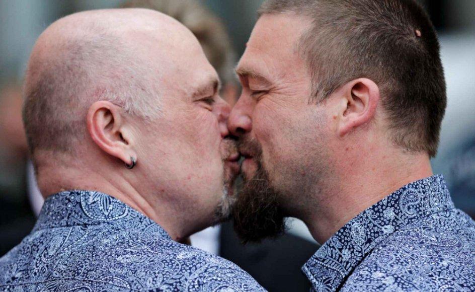 """""""Jeg synes, den ordning, vi har i dag, hvor præsterne på samvittighedsgrundlag har mulighed for at undlade at vie par af samme køn, er udmærket,"""" lyder det fra LGBT Danmarks forperson, Søren Laursen. Arkivfoto."""