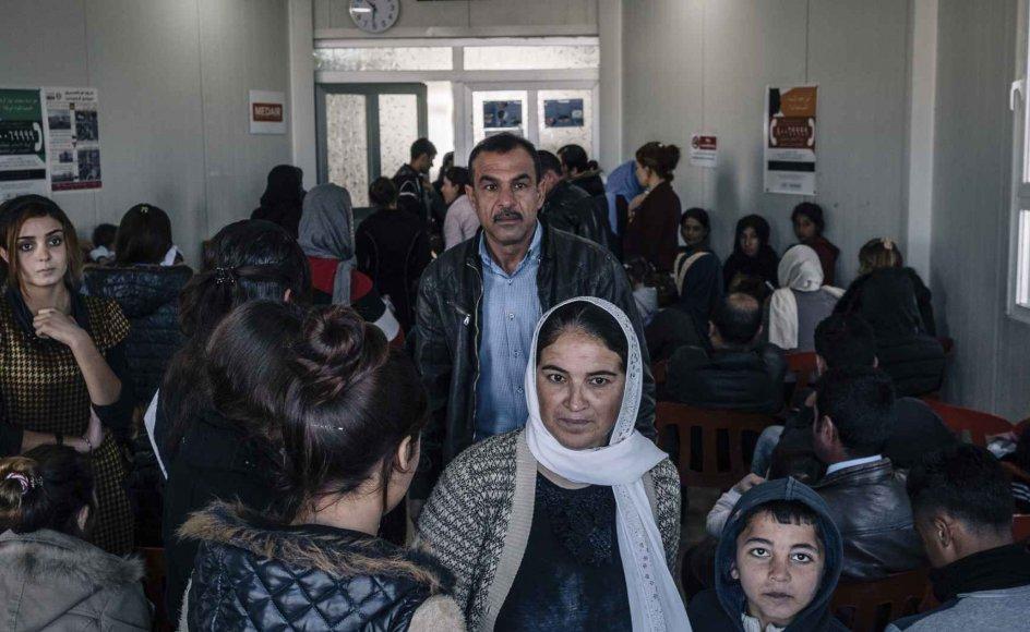 Den sydtyske delstat Baden-Württemberg har derfor siden 2015 på et specielt visum taget imod 1100 yazidier for at give dem medicin- og psykologbehandling. 90 procent af yazidi-kvinderner har været udsat for sexovergreb, vurderer Michael Blume, læge og leder af delstatens behandlingsteam. Han synes, at Danmark skulle følge efter. Arkivfoto.