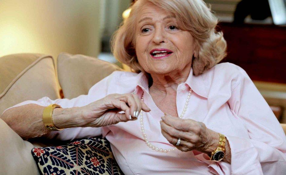 Edit Windsor blev bannerfører for amerikanske homoseksuelles kamp for ligestilling, da hun nægtede at finde sig i at skulle betale en dyr arveafgtift efter sit livs kærligheds død. –
