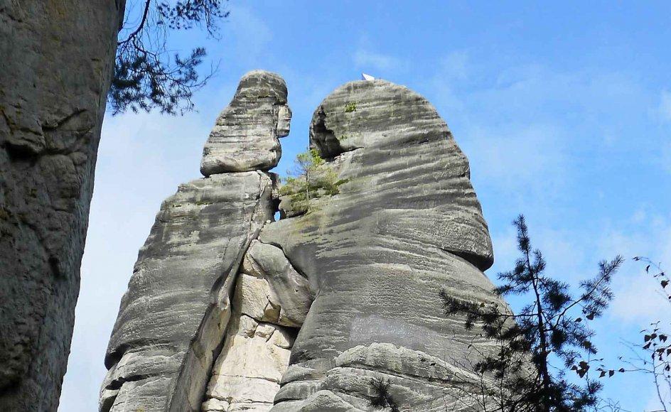 Naturpark i Tjekkiet: Adrspach-klipperne er et syn for sig