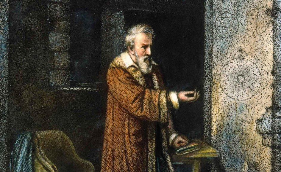 Den italienske matematiker og astronom Galileo Galilei var blandt de videnskabsmænd, der satte dags- ordenen i renæssancen med deres opdagelser. – Fotos: The Granger Collection/ritzau.