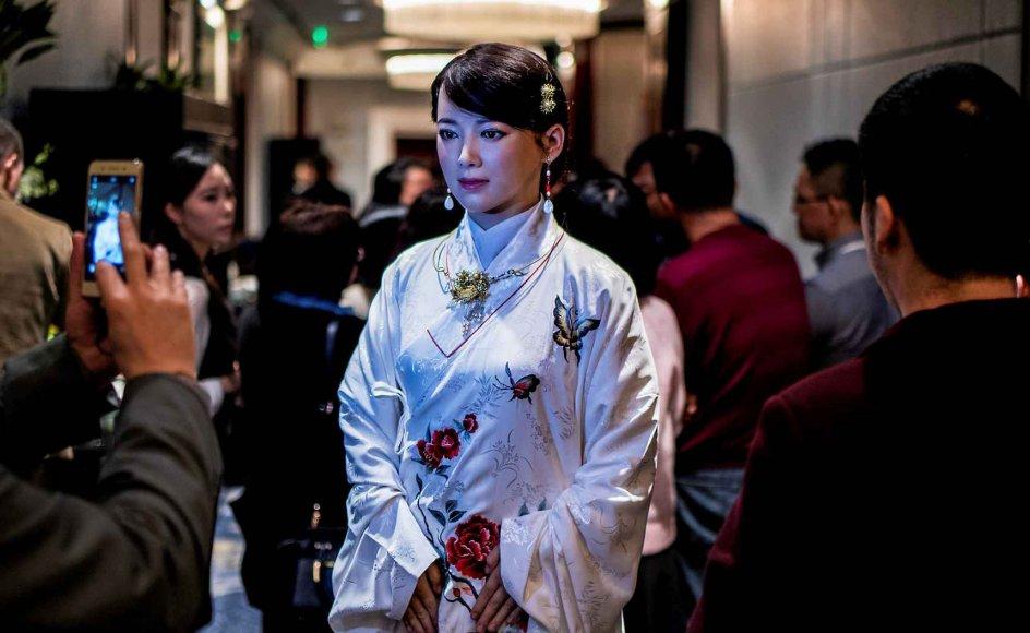 Den yderst menneskelignende robot Jia Jia er fremstillet af forskere fra Det Kinesiske Universitet for Videnskab og Teknologi i Hefai og blev sidste år præsenteret som en robot, der kan konversere og grimassere præcis som et menneske. Da hun stillede op til interview, afslørede hun dog betydelige begrænsninger i sin tænkeevne.