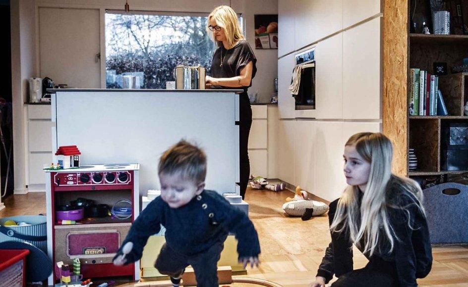 Konservativt lederskab ville være at stå op for, at forældre kan arbejde mindre i årene med små børn, skriver journalist og forfatter Karen Lumholt.