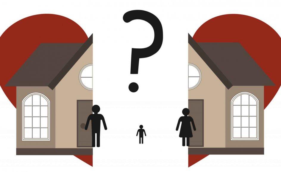 Når et par vælger at blive skilt, skal der tages stilling til alt fra økonomi til bodeling og eventuelle fælles børn. Her er gode råd og vejledning til jer, der står midt i skilsmissen. Modelfoto