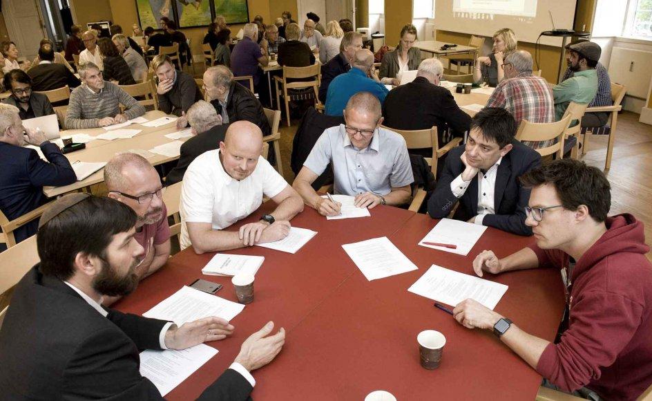 I efteråret tog en gruppe initiativ til stiftelsen af en ny forening for åndsfrihed. Der blev siden holdt et sonderende møde (billedet) og på mandag er der stiftende generalforsamling.