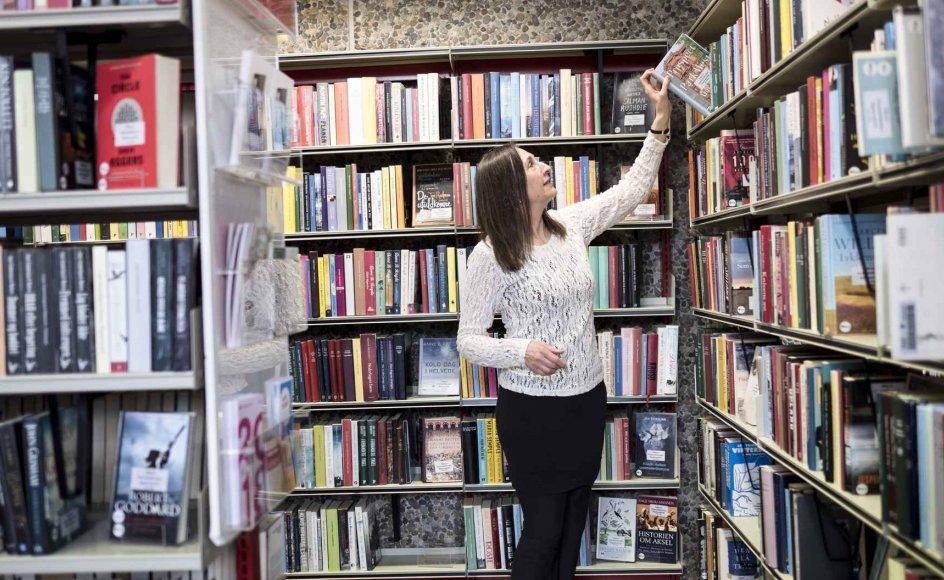 Susanne Noll, 60 år, har gennem bøgerne fået nyt mod, selvom hun på samme år mistede sin mand og fik konstateret kræft i knæet.