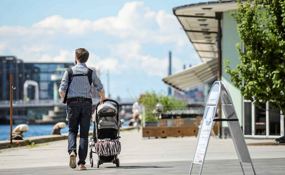 Der skal meget mere fokus på de nybagte fædre, mener Svend Aage Madsen, der står bag en ny undersøgelse fra Forum for Mænds Sundhed. –