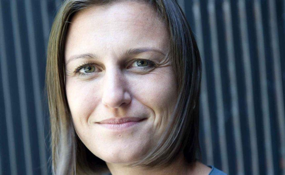 """Den norske forfatter Helga Flatland har netop besøgt København for at tale om sin nye roman """"En moderne familie"""", der især handler om søskenderelationer."""