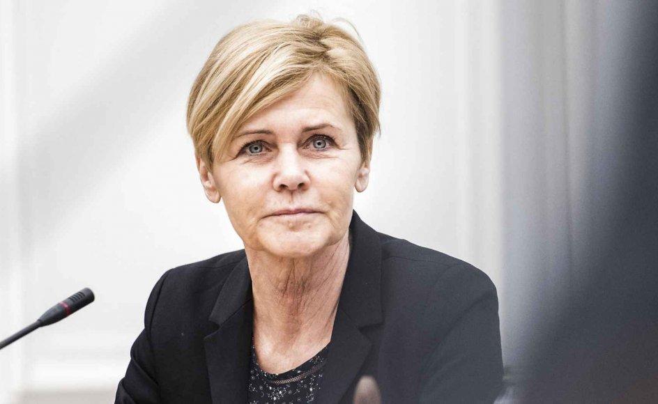 """""""Både kulturelt og økonomisk giver det rigtig god mening for Danmark at investere i det danske mindretal. Vi får på begge områder rigtig meget tilbage, og med Tyskland som vores største eksportmarked er det også af afgørende betydning, at vi har så mange tosprogede og tokulturelle ambassadører,"""" siger kulturminister Mette Bock (LA)."""