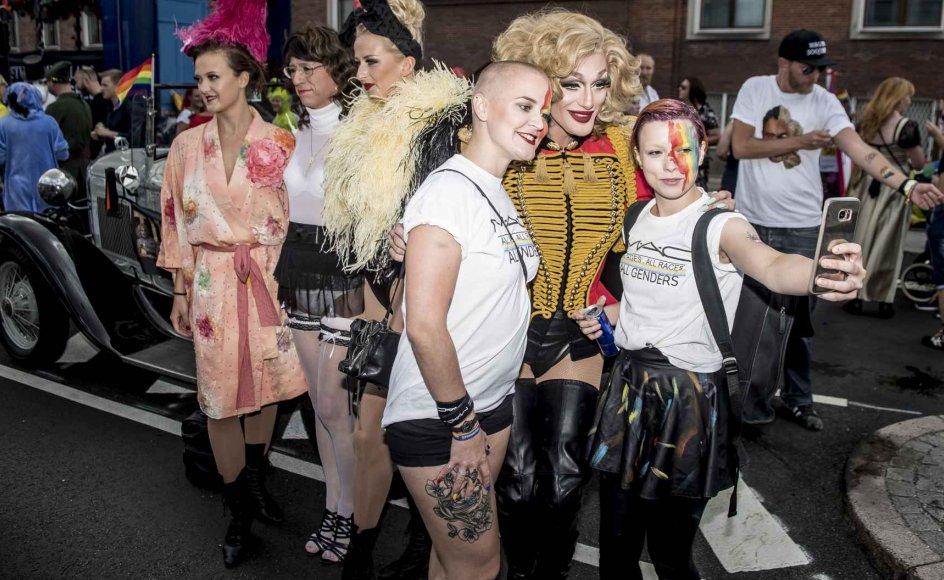 LGBT-bevægelsen holdt 18. august deres årlige Pride-gadefest i København.