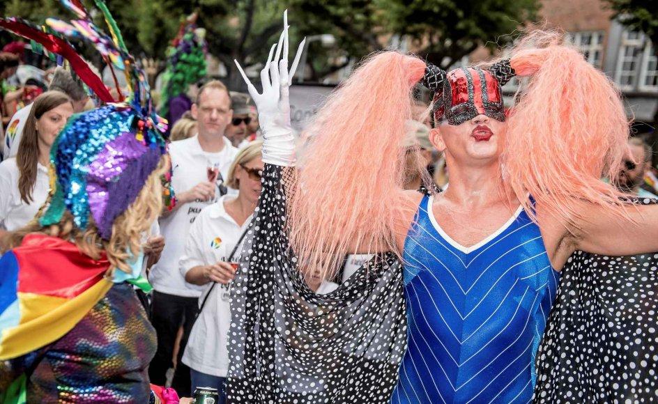 """Copenhagen Pride er fantastisk, mener Tania Dethlefsen fra Sex & Samfund. """"Men det foregår én dag om året, mens der de øvrige dage stadig foregår ting, der bidrager til seksuelle minoriteters mistrivsel."""" Derfor ønsker hun et normopgør. """"Mennesker er ikke modellervoks, der uden videre kan formes, som Sex & Samfund ønsker det,"""" siger politiker fra De Konservative David Munk-Bogballe, som ikke forstår, hvorfor kønsdebat og seksualitet skal fylde så meget. –"""