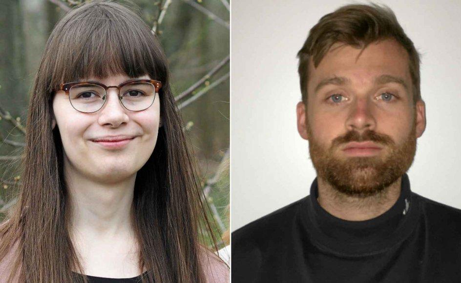 Danielle Birkkjær og Jonas Hagemann Jensen.