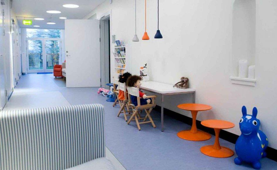 Lukashuset i Hellerup ved København, vil fra 2019 for første gang blive fuldt ud finansieret af en blanding af statslige og regionale midler