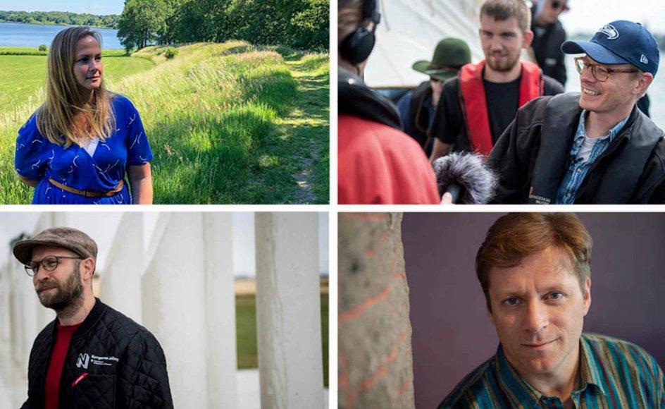 """I serien """"Vikingerne vender tilbage"""" besøger journalist Morten Mikkelsen sammen med fremtrædende danske eksperter fire lokaliteter, der repræsenterer vikingernes historie og indflydelse på det danske samfund."""