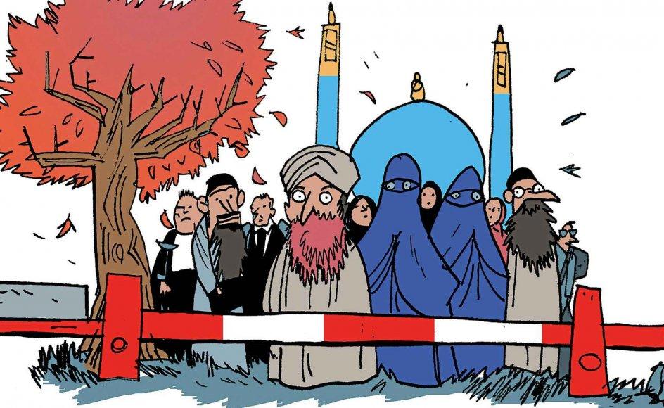 I Frankrig er retsstaten allerede indskrænket på grund af truslen fra islam. Men også i Danmark, ja, i det meste af Vesteuropa, er friheden indskrænket. Det gælder i særlig grad for islamkritikere, jøder og homoseksuelle.
