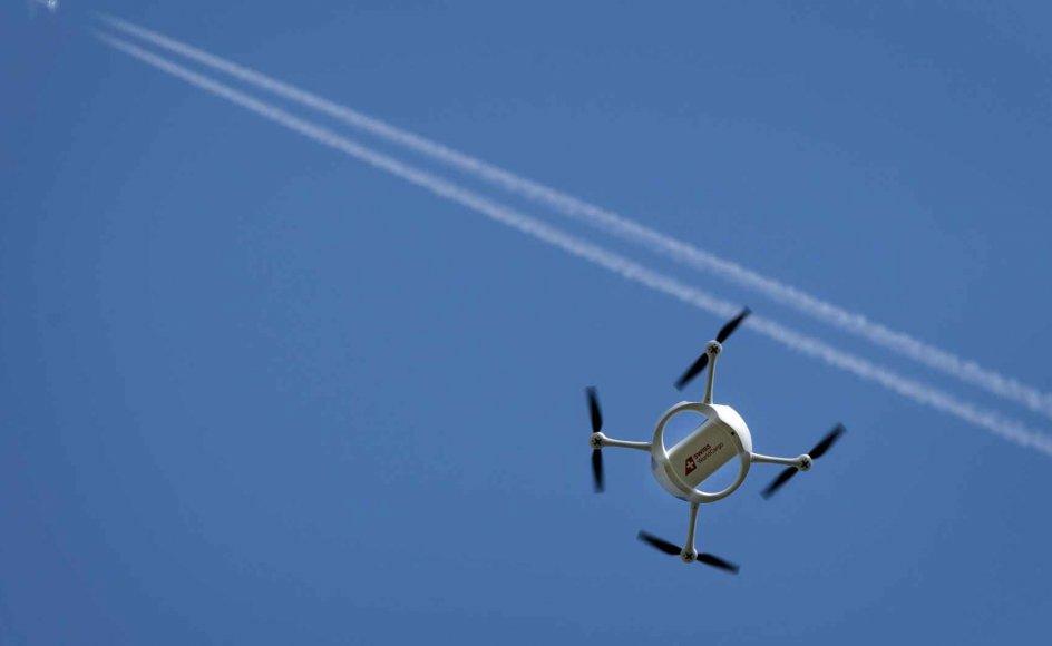 Udbredelsen af droner til civilt brug i Danmark er i stærk vækst.