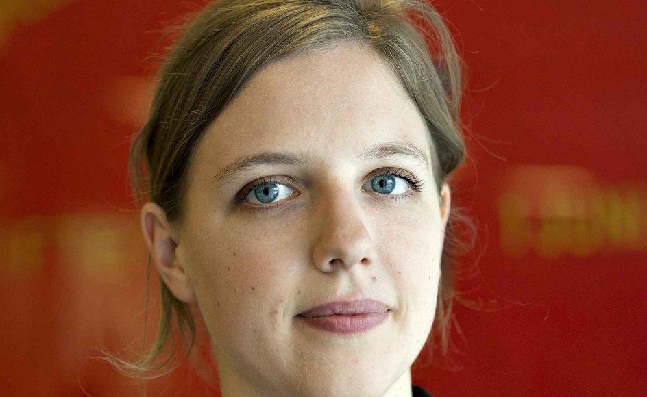 Rina Ronja Kari er lørdag valgt som spidskandidat for Folkebevægelsen mod EU ved det kommende valg til EU-Parlamentet. Arkivfoto.