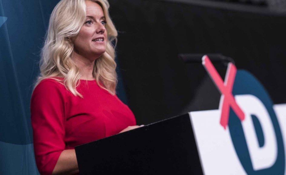 Pernille Vermund lægger ikke skjul på, at udlændingepolitikken har allerøverste prioritet hos Nye Borgerlige.