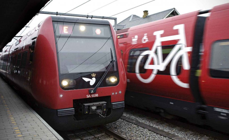 Der var en dobbelt så høj risiko for at vælge toget som selvmordsmetode, hvis man havde bopæl i Region Hovedstaden, som hvis man boede i Region Midtjylland.