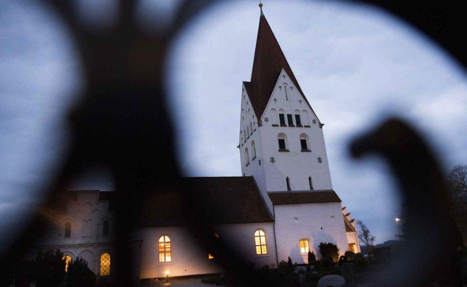 Ifølge en amerikansk undersøgelse er Danmark det næstmindst religiøse land i Europa. Men det er blot, fordi vi forstår religion på en anden måde, mener sognepræst og næstformand i Præsteforeningen Niels Vincens Grunnet. (Arkivfoto)