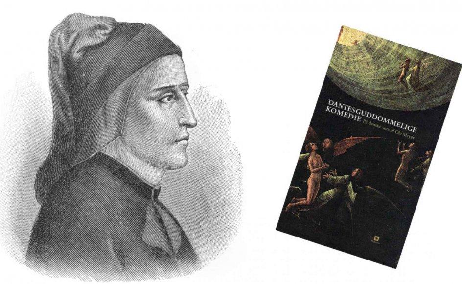 """""""Dantes ord har været med til at sætte konkrete billeder på mange menneskers forestillinger om det hinsidige – med Helvede, Skærsilden og Paradis. Og selvom moderne teologer har forklaret, at Helvede ikke skal forstås som et fysisk sted med evig ild og djævle med treforke, er Dantes forestillinger stadig meget stærke, siger forfatter."""