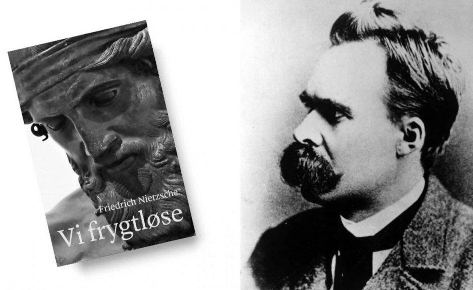 """Nietzsches forkyndelse af denne Guds anden død er ikke det samme som ateisme, og således opstår første glædelige faktum ved udgivelsen af """"Vi frygtløse"""" på dansk, skriver Kristeligt Dagblads anmelder."""