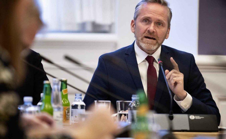 """Udenrigsminister Anders Samuelsen (LA) udtaler, at regringen """"hilser krigsudredningen velkommen"""". (Arkivfoto)."""