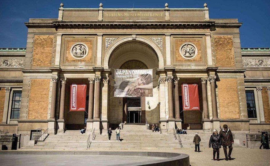 Mens lidt over halvdelen af de adspurgte danskere mener, at der generelt skal gives offentlig støtte til kulturtilbud, mener hele 80 procent, at biblioteker skal støttes, og 79 procent af danskerne mener, at museer skal støttes. På billedet ses Statens Museum for Kunst.