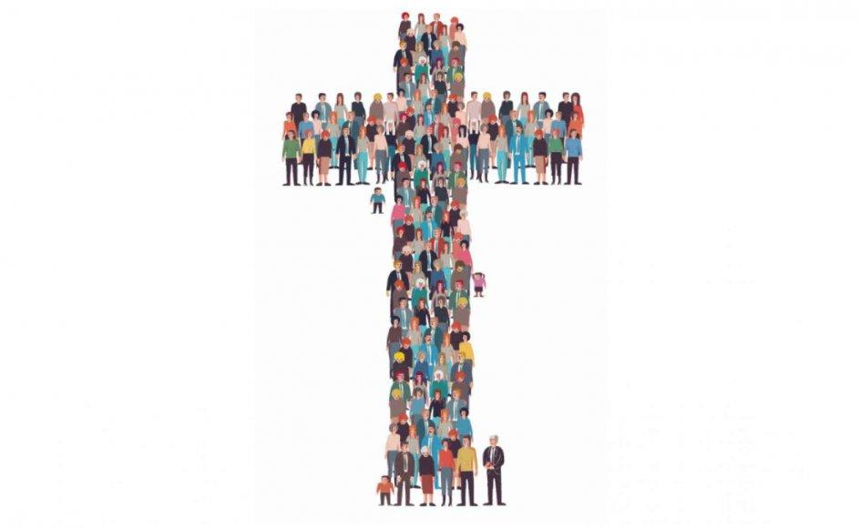 """Ordet """"folkekirke"""" blev hentet fra den tyske filosof og teolog Friedrich Schleiermacher (1768-1834), som i 1800-tallet ydede stor indflydelse på den protestantiske teologi. Hans """"Volkskirche"""", altså folkekirke, var tænkt som en organisme, der holdes levende, når den følger folkets ønsker. Tegning: Morten Voigt"""