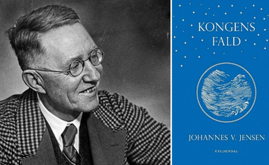 """""""Johannes V. Jensen må utvivlsomt være den af vores forfattere, der har det største ordforråd og den mest udviklede billeddannende fantasi,"""" skriver Kasper Støvring. –"""