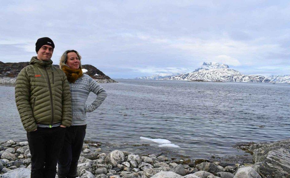 """""""Jeg var så glad for, at min lillebror nu var blevet voksen. At vi var begyndt at komme tæt på hinanden som venner også. Ikke kun som storesøster og lillebror. Stolt over, at det nu var ham, der stolt og kompetent viste os rundt på Grønland, da vi var deroppe og besøge ham for et par år siden."""" – Privatfoto."""