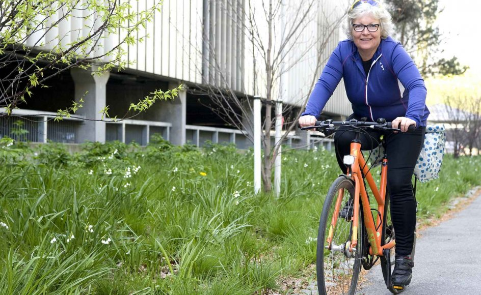 Susanne Zangger cykler på landevejsracer i en klub, men det er sammen med de der mænd med store maver i stram lycra, som hun siger. –