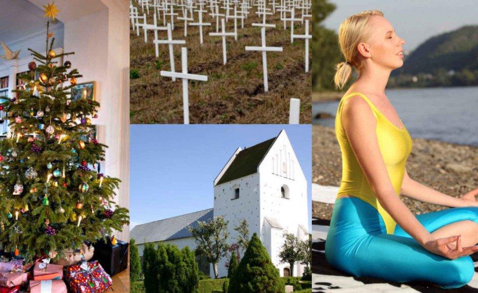 Borgerne i Danmark har mange forskellige opfattelser af tro. En ny undersøgelse fra analyseinstituttet YouGov dokumenterer nogle af de grundlæggende mønstre.