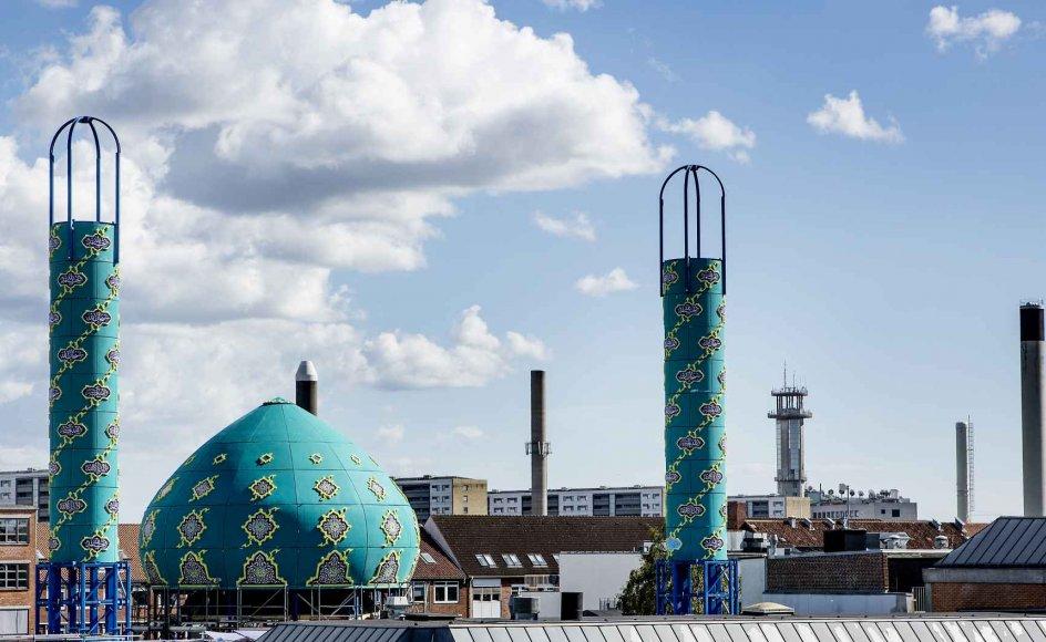 Imam Ali Moskeen er en af de moskeer i Danmark, der har modtaget finansiel støtte fra Mellemøsten
